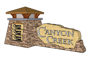 Bottrell Family Investments building at Canyon Creek Retail Center